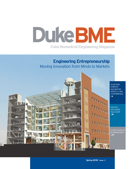 Duke BME Magazine cover