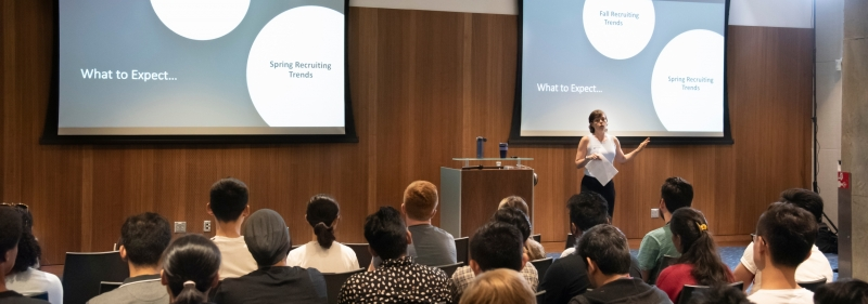 Career services presentation