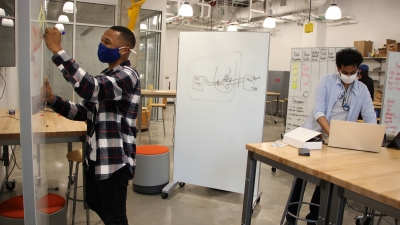 Students prototype their medical device
