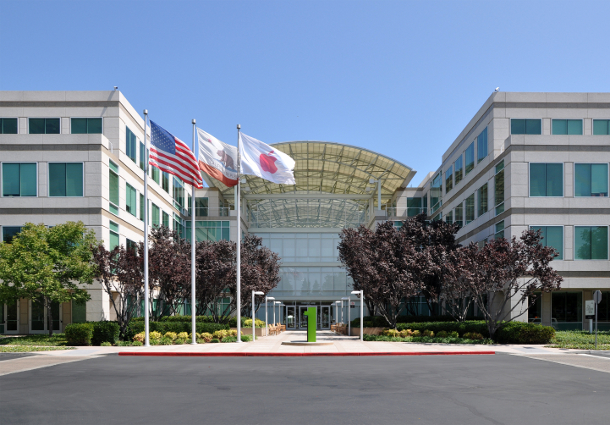 Apple headquarters