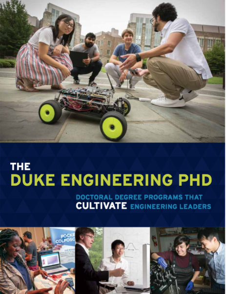 Cover of Duke Engineering PhD Brochure