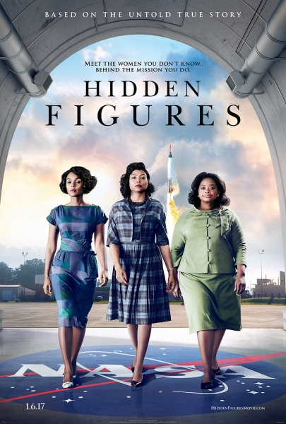 Hidden Figures stars Janelle Monáe, Taraji P. Henson and Octavia Spencer.